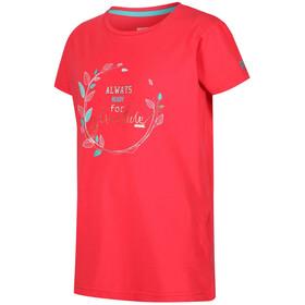 Regatta Bosley II Lapset Lyhythihainen paita , punainen